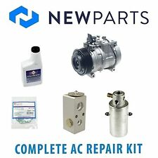 Mercedes W140 400SE 300SE 92-93 Complete A/C Repair KIT With Compressor & Clutch