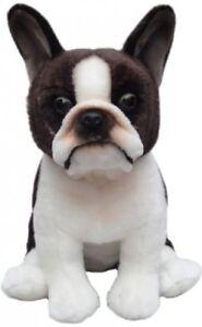 "Boston Terrier Faithful Friends Soft Toy Dog 12"""