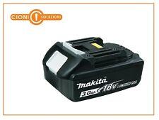MAKITA batteria litio 18v 3ah lxt originale con led indicatore carica BL1830B