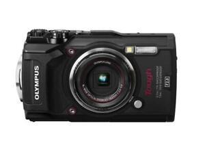 NIB Olympus V104190BU000 Tough TG-5 Digital Camera w/ 128 GB SD  - Black