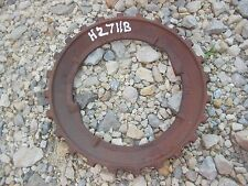 1 Used H2711B Steel / Cast Iron John Deere Planter Bean Seed Plate H 2711 B