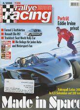 rallye racing 02 2000 2 00 @ Renault Clio Sport 2.0 16V @ Lotus 34CR  Opel Astra