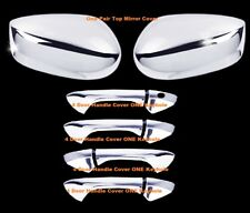 For 2008 09 10 11 2012 Honda Accord Coupe Chrome 2 Door Handle Covers