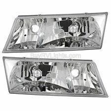 NEWMAR MOUNTAIN AIRE 2002-2004 37FT PAIR HEADLIGHTS HEAD LIGHTS LAMPS FRONT RV