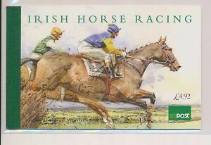 LO37976 Ireland horse racing horses prestige booklet MNH