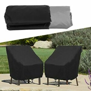 Waterproof Furniture Cover Sofa Protection Outdoor Patio Garden High Back Chair