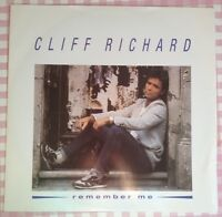 "Cliff Richard Remember Me 12"" Single 12 EM 31 Vinyl Record 1987 3 Tracks"