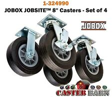 "JOBOX 8"" CASTERS - SET OF 4 - 1-324990 NEW"