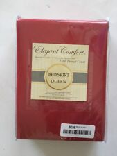Elegant Comfort1500 Thread Count Egyptian Cotton Queen Bed Skirt