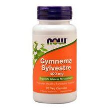 Gymnema Sylvestre Extra, 400mg x90caps Kapseln, diabeles, Diät, NOW Foods