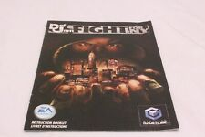 Nintendo Gamecube - Def Jam Fight for NY New York  -  BIG FRENCH Manual Only