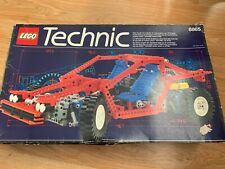 Vintage Lego Technic Test Car Set 8865 with original box and instructions 98%