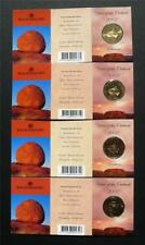 2002 Year Of The Outback One Dollar Uncirculated Coin Mintmarks S, M, C, B