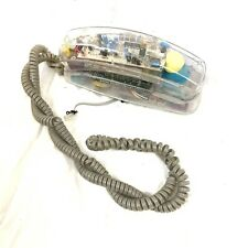VINTAGE METRO SOUND CLEAR TRANSPARENT FUN PHONE FX SPECIAL EFFECTS LIGHTS UP