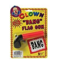 Flag Bang Gun. Pink,  Novelty, Prop, Joke Fake Gun