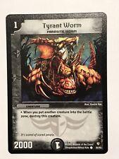 Tyrant Worm Duel Masters DM08 Common card TCG CCG
