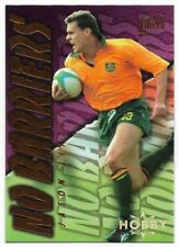 1996 Futera Rugby Union NO BARRIERS (NB1) Jason LITTLE Sample Hobby