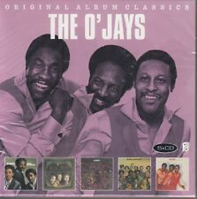 The O 'Jays/BACK Stabbers, Survival, Family Reunion, Ship Ahoy particolare (5 CD, SCATOLA ORIGINALE)