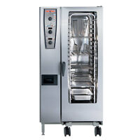 Rational Model 201 A219106.43.202, Electric Combi Oven with Twenty Half Size She