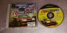 RALLISPORT CHALLENGE TRIAL DEMO XBOX Japan Promo Disc