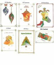DeeCraft Iris Folding 12 x Aperture Card Pack - Christmas Pack
