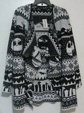 NWT Nightmare Before Christmas Fair Isle Cardigan Sweater Womens size 4X 24/26