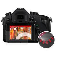 3x Antichoque Película Protectora para Panasonic Lumix DMC-FZ1000 mate&flexibel