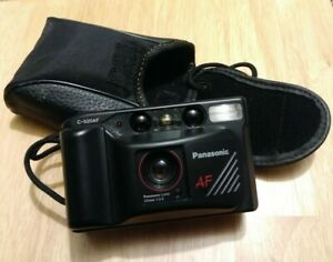 Panasonic C-520AF 35m Camera With Case, Auto Focus *RARE* *VINTAGE*