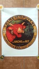 Affiche Vache qui rit