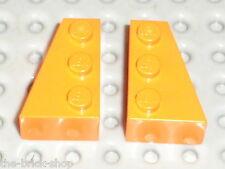 LEGO Star Wars Orange wedges ref 6564 & 6565 / set 6740 7171 7686 6520