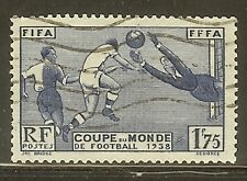 """FRANCE N°396 """"COUPE FOOTBALL"""" OBLITERE TB"""