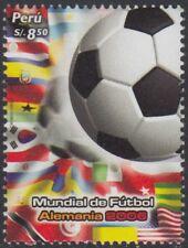 Perú 1607 2006 Mundial de Fútbol football Alemania  MNH