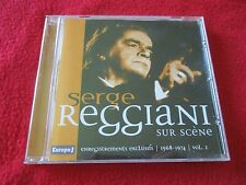 "CD ""SERGE REGGIANI SUR SCENE, VOLUME 2 : 1968 - 1974"" enregistrements exclusifs"