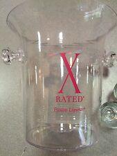 X-Rated Liquor Liqueur Ice Bucket Acrylic Nibag