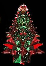 TREE Christmas Foil Decoration Red/Green Garland Ceiling Hanging Festive Party