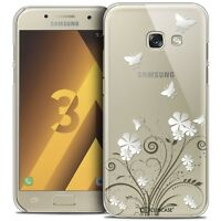 Coque Crystal Pour Samsung Galaxy A3 2017 (A320) Extra Fine Rigide Summer Papill