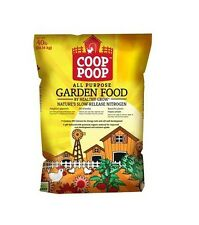 Pearl Valley Organix HGR243CP40 Coop Poop 40 lbs All Purpose Garden Food, New
