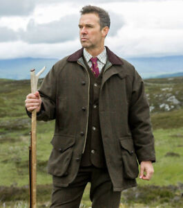 Hoggs of Fife -Upland shooting Jacket- English Country sporting Attire- Hunting