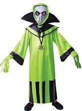 Verde Di Ragazzi Alien Spazio Marziano Abito Costume Halloween 4-12 anni