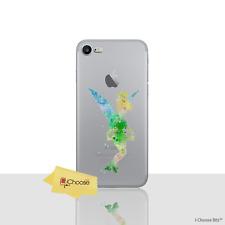 Disney Fée Clochette Gel Coque pour Apple iPhone 5 5s SE Protecteur D'écran Étui