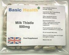 Milk Thistle 30 x Liver Detox Antioxidant Cholesterol Silymarin Alcohol Cleanse