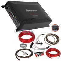 PIONEER 2000W 5 Channel Class D Car Amplifier | GM-D9605 + Amp Kit!