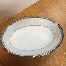 Noritake Lenore Platinum Oval Vegtable Dish