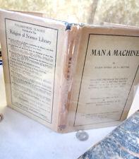 MAN A MACHINE,1927,Julien Offray De La Mettrie,DJ