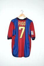 🔥98/99 FIGO authentic shirt Barcellona jersey retro vintage Inter Real Madrid