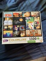 1500 Piece Jigsaw Puzzle Colorluxe Brand Coffee Cafe