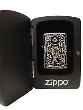 Zippo® Mother of Pearl Perlmutt SNAKE SCHLANGE ovp BLACK  Holzbox Neu / New