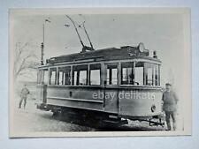 HALLE Germania TRAM tramway Straßenbahn treno vecchia foto 7