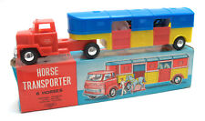 Vintage Laurie Toy (Hong Kong) Plastic Friction Horse Transporter * BOXED *