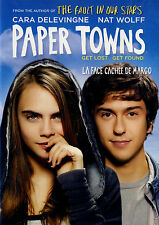 USED  DVD // COMEDY // PAPER TOWNS // Nat Wolff, Cara Delevingne, Austin Abrams,